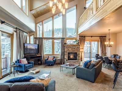 Photo for Slopeside Retreat by WPLCo | Gorgeously Redesigned! | Fun Factory | Hot Tub!