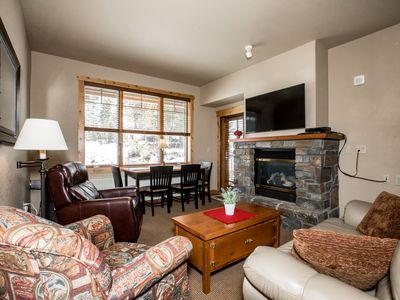 Photo for Perfect ski and summer base lodge - Direct ski in and ski out