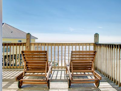 Photo for Dog-friendly home w/beach access & amazing views from decks & porch