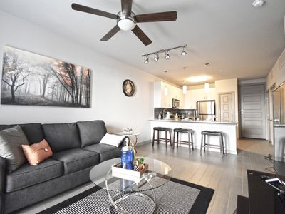 Photo for ★★★★★ Brand New Corporate Apartment Uptown/Dwntown