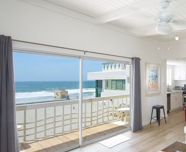 Photo for Breathtaking Unobstructed Strand Ocean Views! Darling 2-King/1ba with Laundry