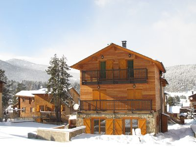"""Photo for Chalet """"BeauBois"""" in Lovely Historic Formiguères - Winter & Summer - (Sleeps 6)"""