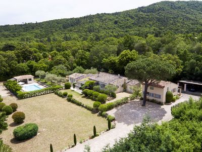 Photo for Luxury Family Villa + Guest Cottage with Pool in Hills/Vineyards Nr St Tropez