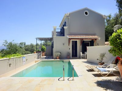 Photo for Villa Fedra offers beautiful views over lush olive groves