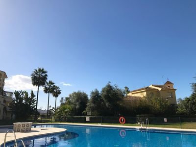 Casa Belmonte, Boutique stay, 2 bed, 1 bath Garden apartment with pool view.