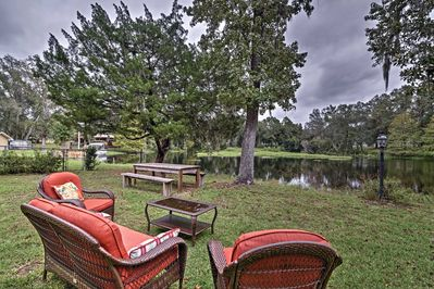 Gather your family for a Florida retreat at this Hernando vacation rental house!