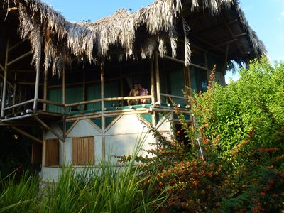 Photo for BAMBOO HOUSE in lush tropical vegetation