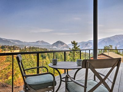 Photo for NEW! 'Gorge Retreat' Carson Home w/Stunning Views!