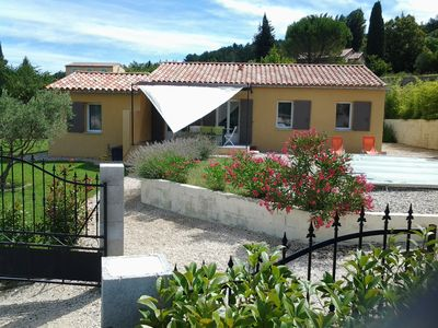 Photo for Independent villa, air conditioning, 8 people, private pool