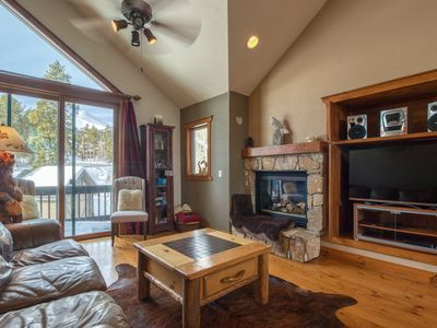 Photo for NEW LISTING! Woodland ski-in/out townhome w/ private hot tub, gas fireplace