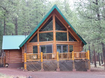 Photo for Secluded--On An Acre In The Pines!  A Short Walk To The Fabulous Greer Lakes!