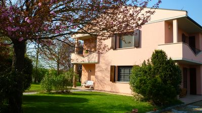 Photo for Very quiet Eco House with garden in the countryside between Bologna and Ferrara
