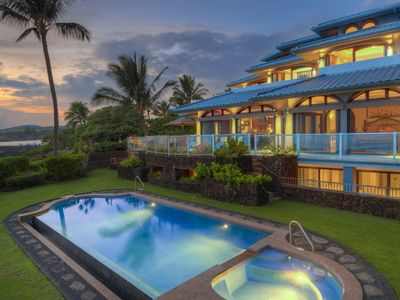 Photo for Paradisio Ho'o Kumu - Stunning Oceanfront with Pool and Spa