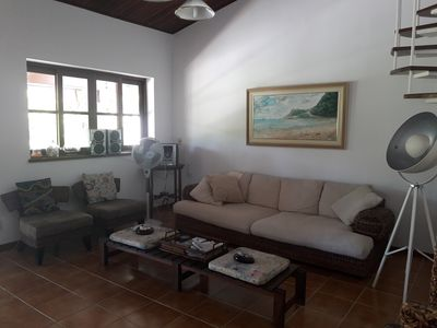 Photo for Condo house Guaecá Quadra 3, 4 suites + 1 bedroom, swimming pool and tennis court