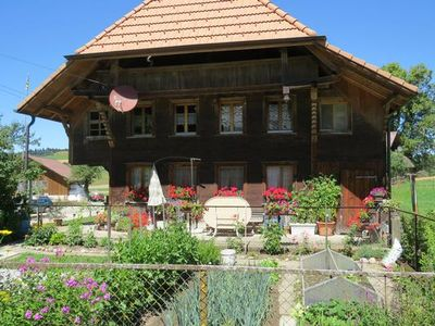 Photo for Holiday Häusernmoos im Emmental for 6 - 8 people with 2 rooms - Apartment