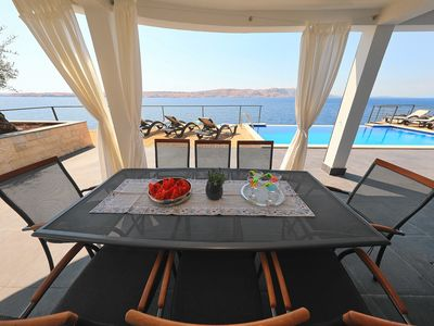 Photo for Exclusive Villa with private beach and pool