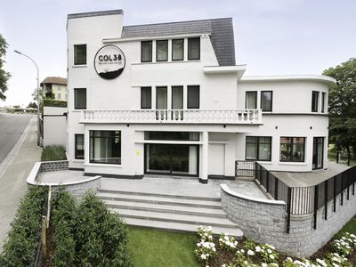 Photo for Upscale Mansion in Kluisbergen with Sauna and Terrace