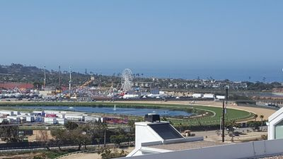 Photo for Stunning Ocean and Racetrack View Three Bedroom Condo Completely Remodeled