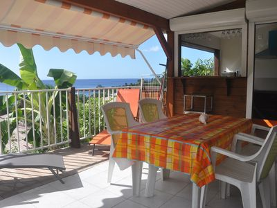 Photo for Amazing bungalow with sea view