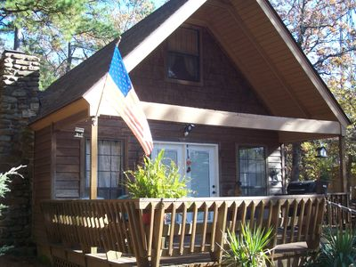 Photo for Privately owned chalet located on top of Mt Nebo, Arkansas