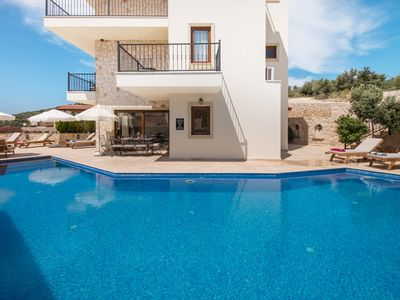 Photo for Stunning 4 Bedroom, 5 Bath Villa With Private Pool & Uninterrupted Sea Views