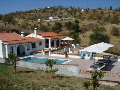 Photo for Luxury villa with pool and beautiful views set in 8 acres of almond groves.