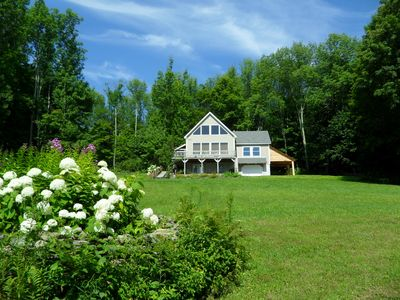 Photo for Charming House Secluded in a 4-Acre Parcel with View