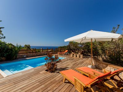 Photo for Villa Beatrice with magnificent private pool and sea view