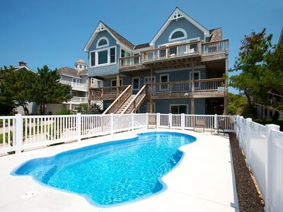 Photo for Shore's Fun: Elevator, oceanfront, private pool, hot tub and sauna.