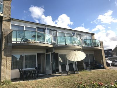Photo for Apartment directly on dune beach & North Sea, terrace, WiFi and 2 bedrooms