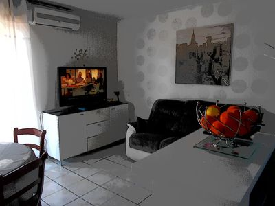 Photo for Apartment with balcony 700 m from the beach