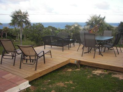 Photo for Ocean View , quick walk to beach +pool , from $1000 US/wk in high season