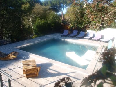 Photo for Lovely air-conditioned luxury villa in Sainte Maxime with swimming pool