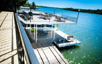 Photo for SUMMER DATES NOW OPEN! Waterfront Views, Open Water, Fishing, Boat Rental.