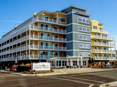 Photo for Coastal Colors - Newly Renovated Upscale Corner Unit On Beach Block