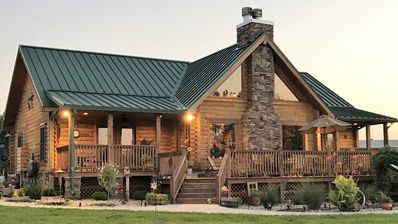 Photo for A unique log home for short term rentals, furnished with the best furnishing,