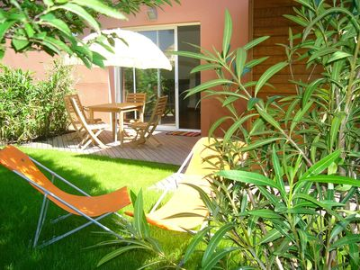 Photo for Biarritz-Anglet Chiberta, new apartment 45 m2 garden 150 m2