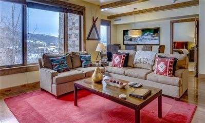 Photo for Edgemont 2408: 3 BR / 2.5 BA condo in Steamboat Springs, Sleeps 8