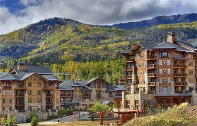 Photo for Lux mountain retreat with ski-in/out access via Sunrise lift next to Canyons