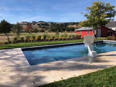 Photo for Virtual Tour - Single Story Ranch with Pool - 2.5 Acres near  Sonoma Square