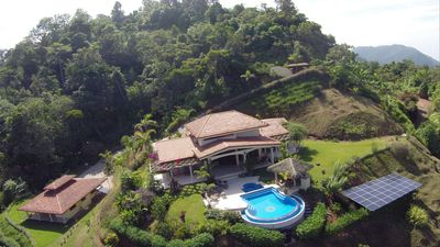 Photo for Luxury Mountain Villa With Stunning Pacific View - Breakfast Included