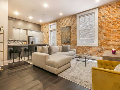 Photo for Bright & Bold Warehouse District Apartment