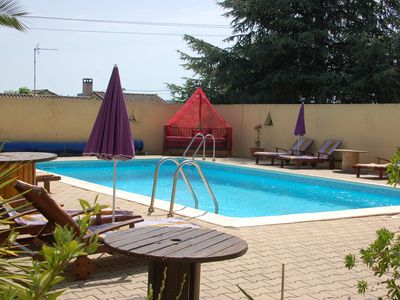 Photo for 1 Studio in villa with shared pool,