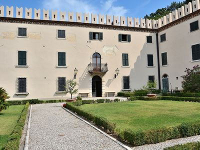 Photo for The Knight Loft With Pool - Apartment for 4 people in Colà