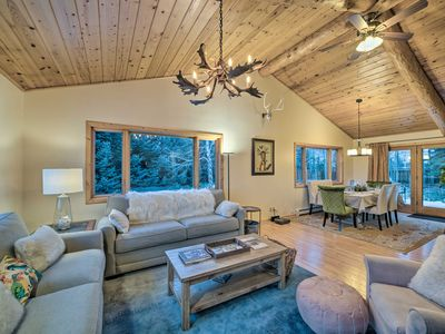 Photo for NEW! Cozy Bozeman Area Cabin w/Mtn View on 2 Acres