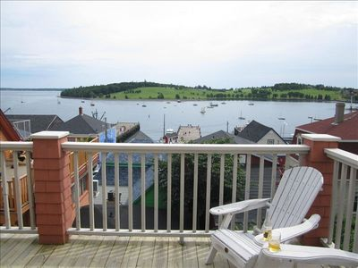 Photo for Spectacular Ocean View Loft Overlooking Lunenburg Harbour in the Heart of Town