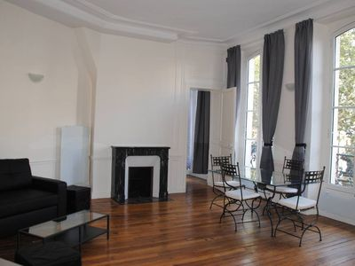 Photo for Saint Germain - Odeon - 2 bedroom 2 bathroom apartment in listed building