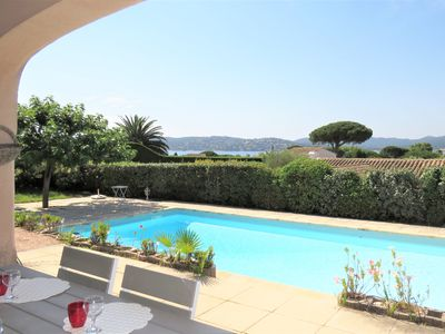Photo for Renovated Villa - Sea View - 3 Bedrooms - Pool - Private Beach