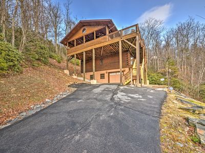 Photo for Incredible Boone Cabin w/Unrivaled Mountain Views!