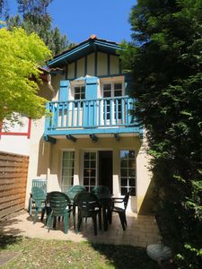 Photo for Beautiful Basque style house on the edge of the golf course and close to the beach
